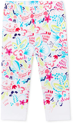 First Impressions Tropical-Print Leggings, Baby Girls (0-24 months), Only at Macy's $13 thestylecure.com