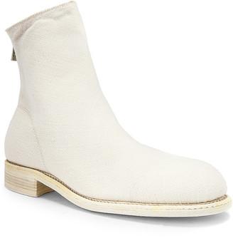 Guidi Back Zip Boot in White | FWRD