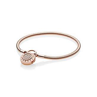 Pandora Women Gold Plated Statement Bracelet - 587757CZ-17