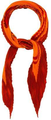 Hermes Brides de Gala Silk Plisse Scarf