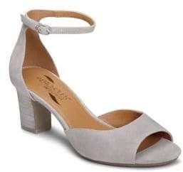 Aerosoles Ooh La La Cutout Suede Sandals