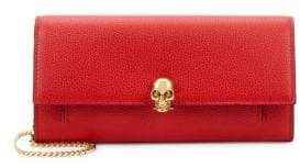 Alexander McQueen Small Leather Chain Wallet
