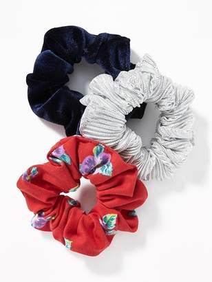 Old Navy Scrunchie Hair-Tie 3-Pack for Women