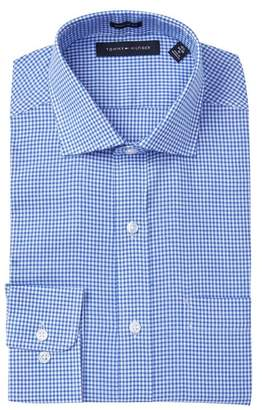Tommy Hilfiger Washed Gingham Regular Fit Oxford Dress Shirt