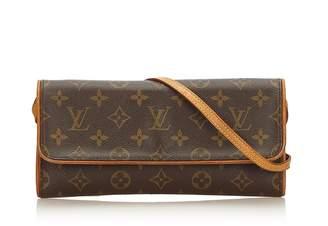 Louis Vuitton Vintage Monogram Pochette Twin Gm