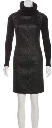 Viktor & Rolf Medium-Weight Long Sleeve Sweater Dress