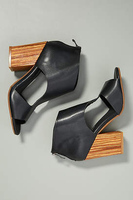 Antelope Cutout Heeled Sandals
