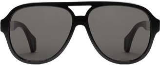 Gucci Aviator sunglasses with stripe