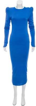 Thierry Mugler Structured Maxi Dress