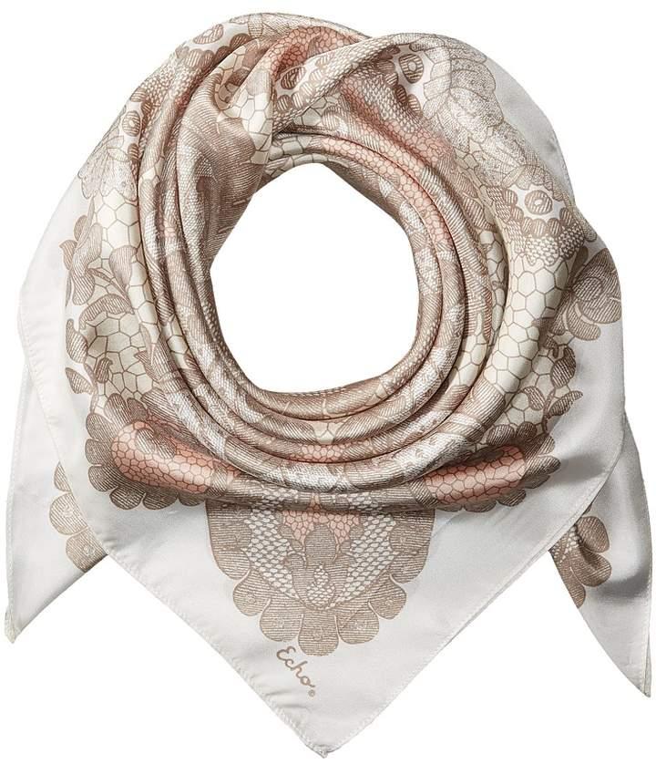 Echo Design - Camden Lace Silk Square Scarf Scarves