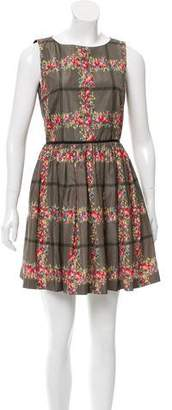RED Valentino Printed A-Line Dress