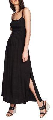 1 STATE 1.State Cinched Waist Maxi Dress