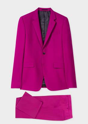 Paul Smith The Kensington - Men's Slim-Fit Purple Wool Suit