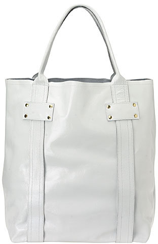 Patent Leather Large Tote