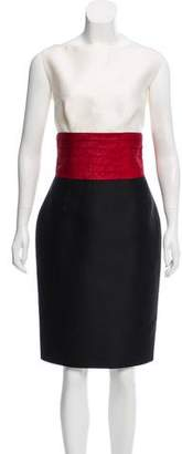 DSQUARED2 Wool Sleeveless Dress
