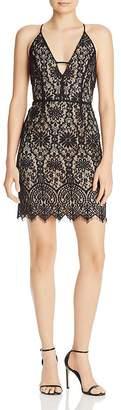 WAYF Reannah Lace Mini Dress
