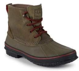 UGG Zetik Leather Duck Mid-Top Boots