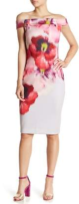 Ted Baker Mida Floral Off-the-Shoulder Dress