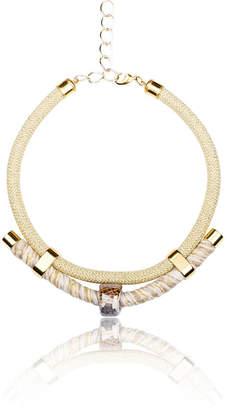 Iris Natural Colours Handmade Statement Necklace