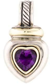 David Yurman Amethyst Heart Enhancer