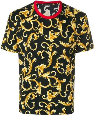 Versace baroque patterned T-shirt