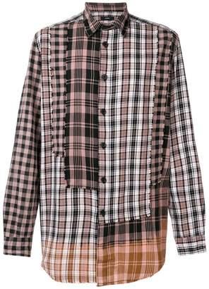 Diesel patchwork shirt