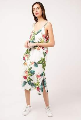 Azalea Tropical Strappy Midi Dress