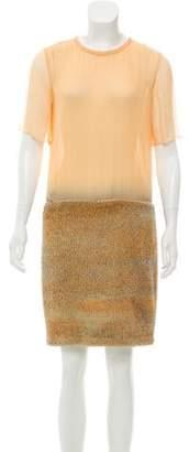 Proenza Schouler Textured Knee-Length Dress