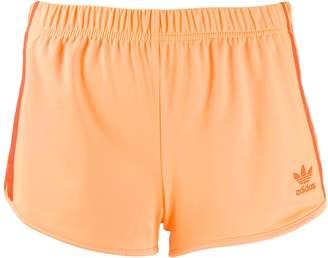 adidas contrast logo shorts