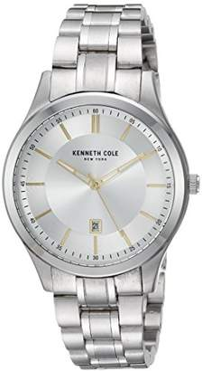 Kenneth Cole New York Quartz Stainless Steel Casual Watch