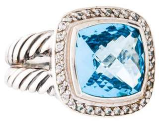 David Yurman Topaz & Diamond Albion Ring silver Topaz & Diamond Albion Ring