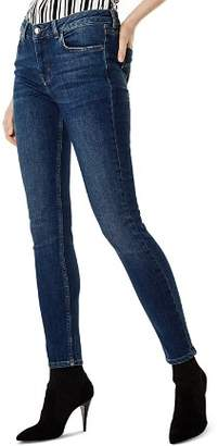 Karen Millen High-Rise Skinny Jeans in Denim