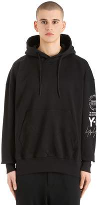 Y-3 Oversize Hooded French Terry Sweatshirt