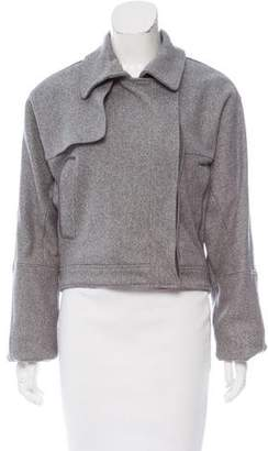 Reed Krakoff Cropped Knit Jacket