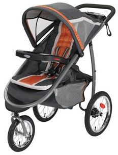 Graco FastAction Fold Jogger Click Connect Stroller $179.99 thestylecure.com