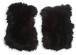 Bari Lynn Rabbit Fur Gloves