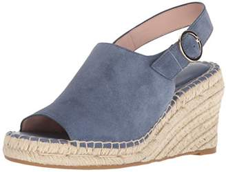 Taryn Rose Women's Winnie LUX Suede Espadrille Wedge Sandal