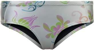 Cynthia Rowley Cascai printed glideskin bikini briefs