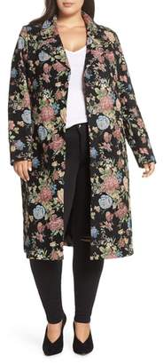 Junarose Didel Floral Jacquard Jacket