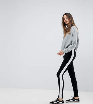 Asos Tall DESIGN Tall leggings with side stripe