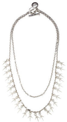 Giles & Brother Double Strand Thorn Chain Necklace $95 thestylecure.com