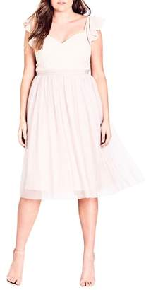 City Chic Tender Kiss Dress