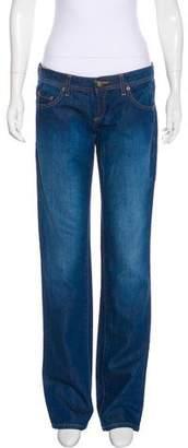 Missoni Low-Rise Straight-Leg Jeans