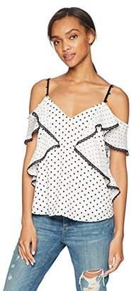 Adelyn Rae Women's Ethel Knit Ponte Dress