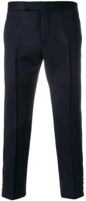Thom Browne Cavalry Twill Pintuck Slim Fit Trouser