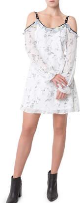 Glamorous Cold Shoulder Daisy Ditsy Dress