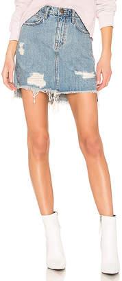 Current/Elliott The High Waist Mini Skirt