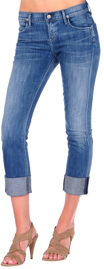 Citizens of Humanity Dani Cropped Straight Leg Jean