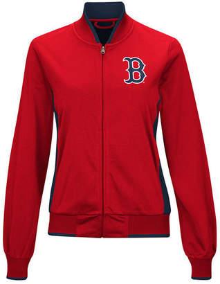 G-iii Sports Women's Boston Red Sox Triple Track Jacket