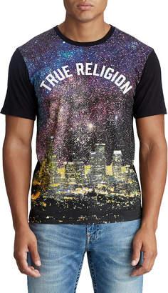 True Religion MENS ASTRO CITY GRAPHIC TEE